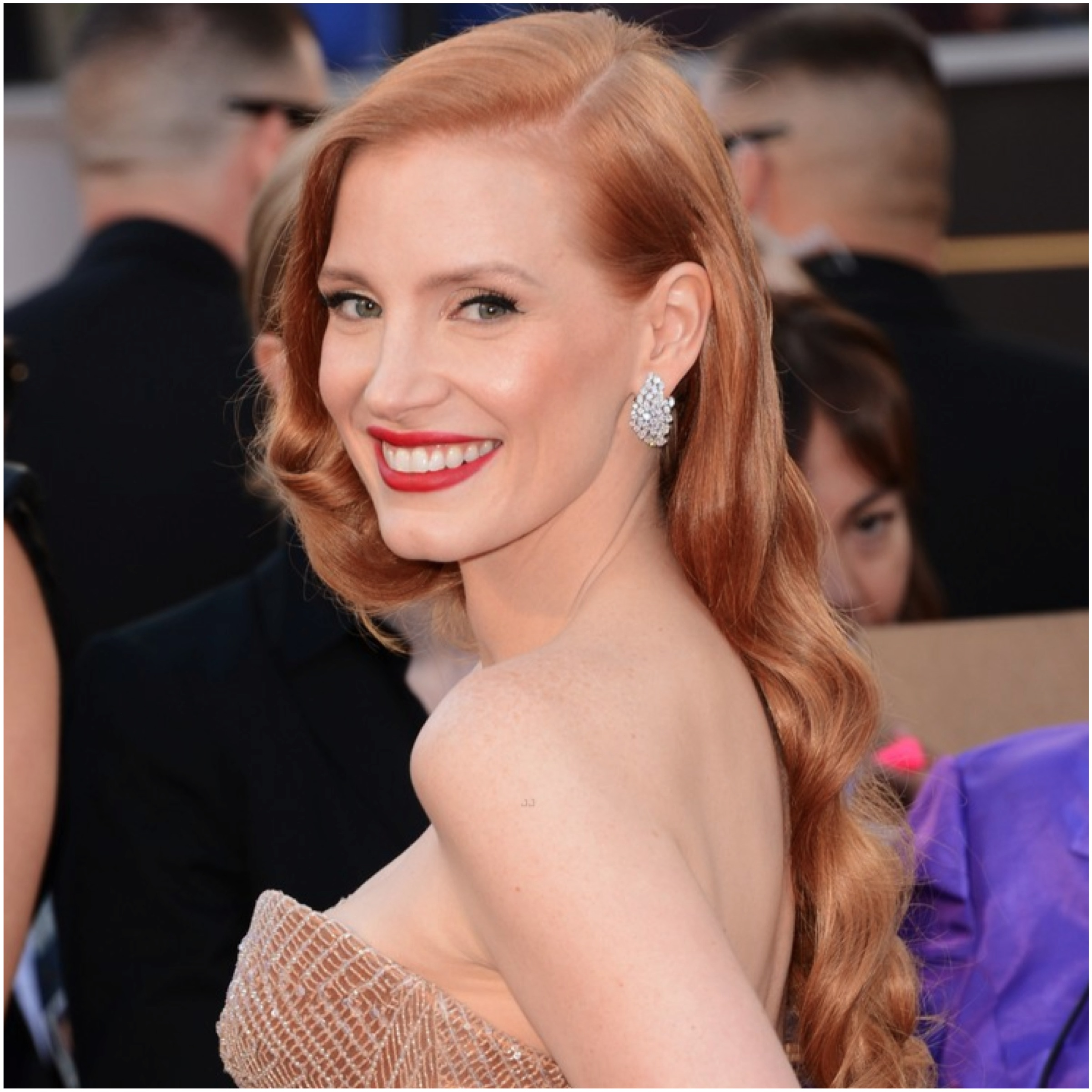 jessica chastain - Beauty Banter Jessica Chastain
