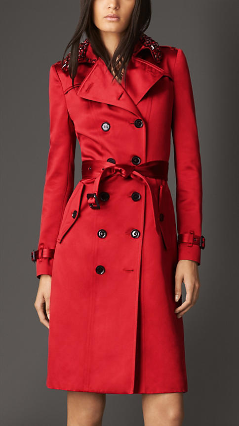 Red Trench Coats - Tradingbasis