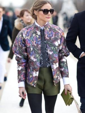 Olivia-Palermo-wearing-bomber-jacket-in-Paris