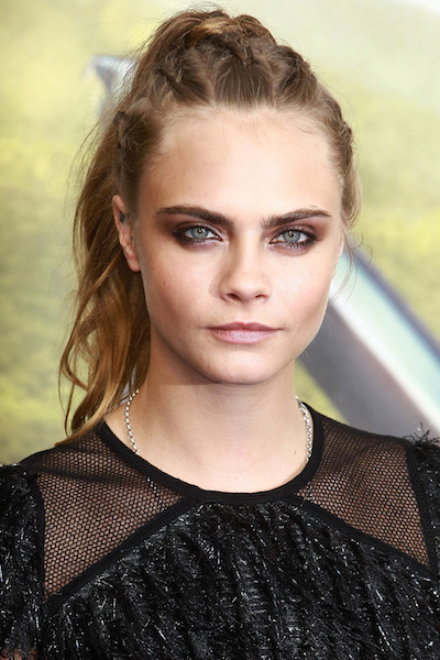 "LONDON, ENGLAND - SEPTEMBER 20:  Cara Delevingne attends the World Premiere of ""Pan"" at Odeon Leicester Square on September 20, 2015 in London, England.  (Photo by Fred Duval/FilmMagic)"