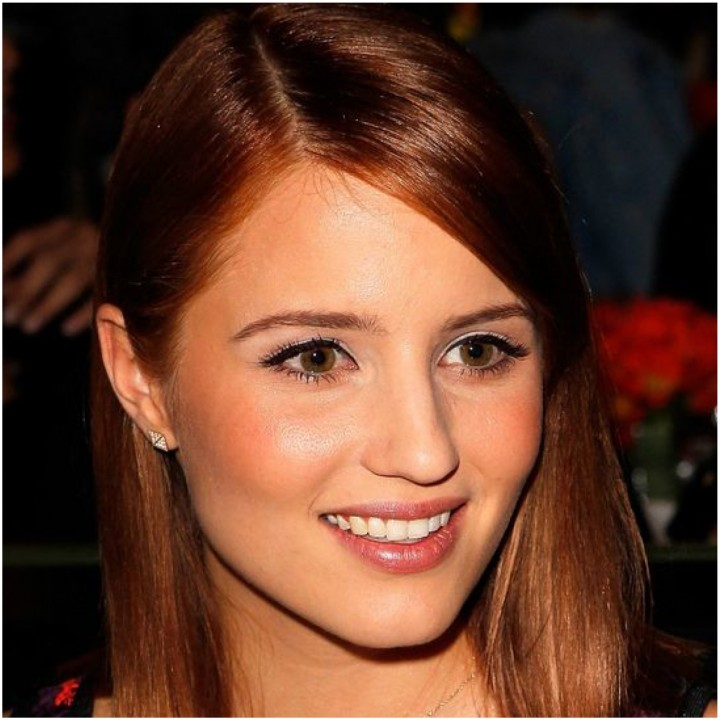 dianna agron red
