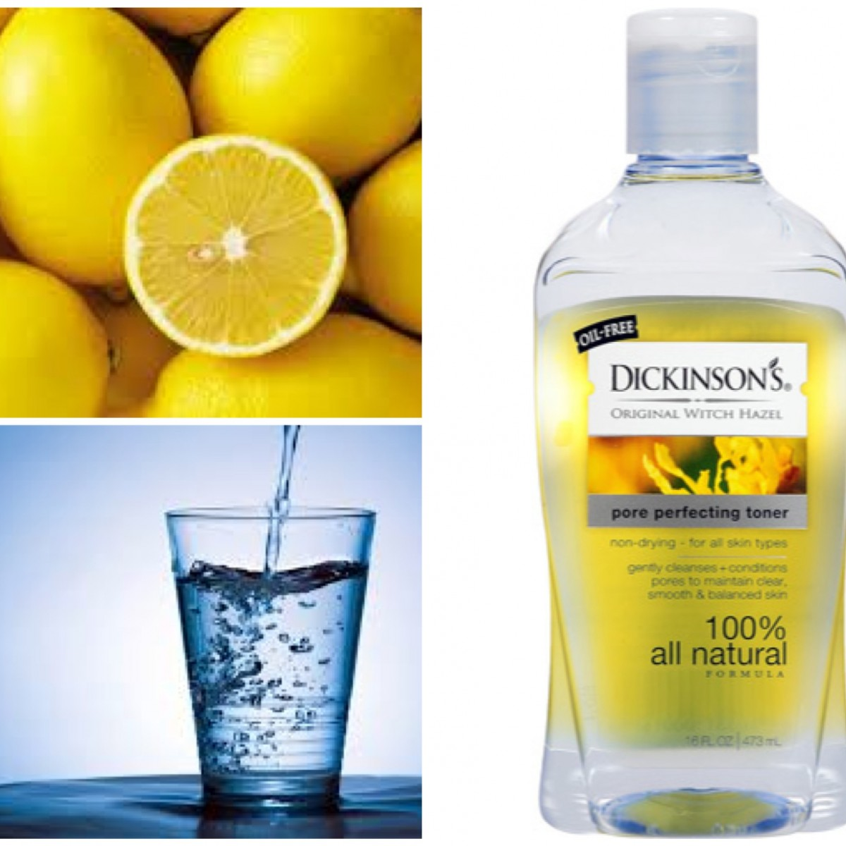 DIY: Lightening And Brightening Lemon Toner