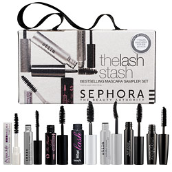 edae0495012 The Lash Stash is a collection of Sephora's top-selling mascaras (7, to be  exact), travel-size (all black), in the convenience of a single set.